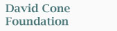David Cone Foundation